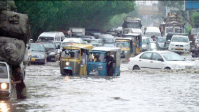 Photo of کراچی کے عوام بارش کے پانی میں ڈوب گئے