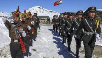Photo of چین اور بھارت کا سرحد پر مزید فوجیں نہ بھیجنے پر اتفاق