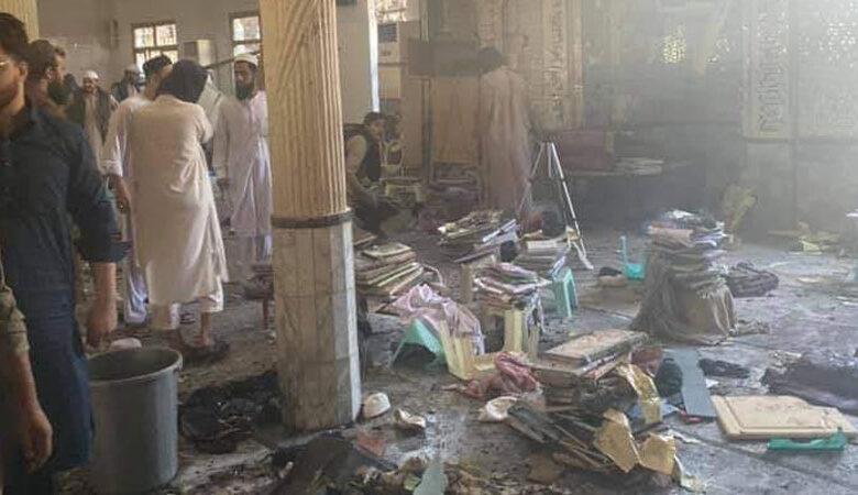 پشاور کے مدرسے میں دھماکہ، 20 بچے زخمی