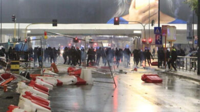 Photo of اٹلی: کورونا پر قابو پانے کے لیے حکومتی پابندیوں کے خلاف شدید مظاہرے شروع